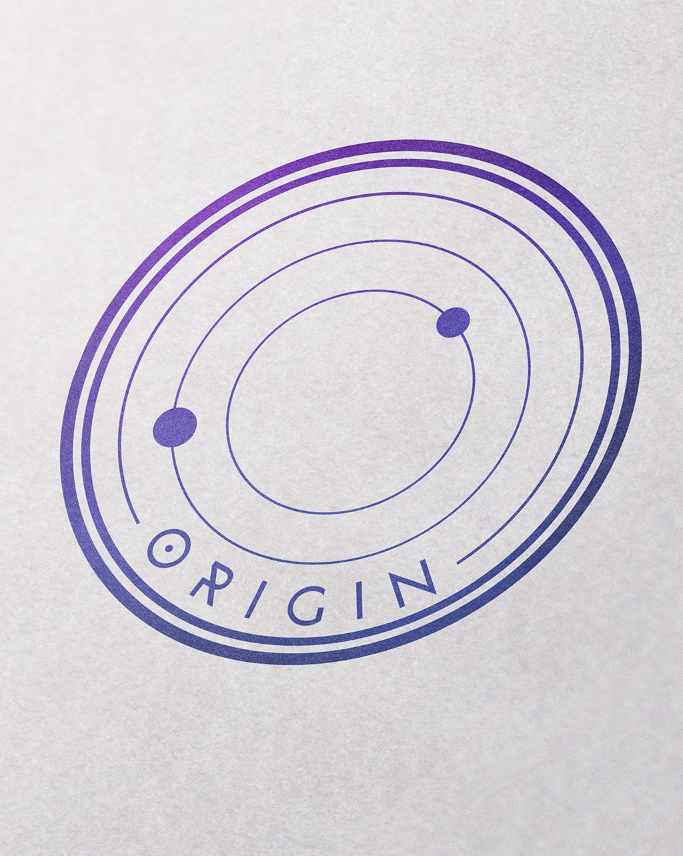 Logotipo Origin by ITCANph