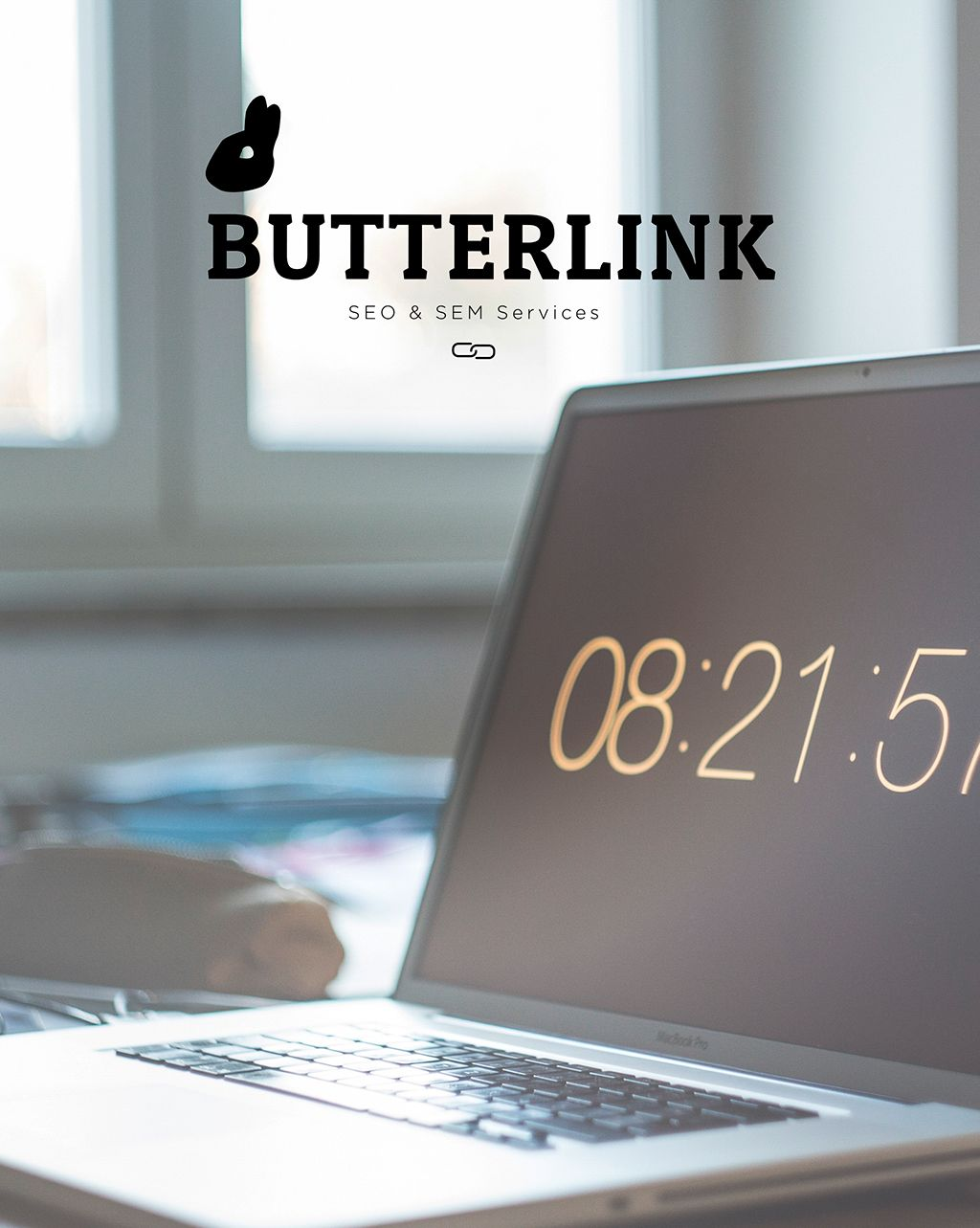 Logotipo Butterlink by ITCANph