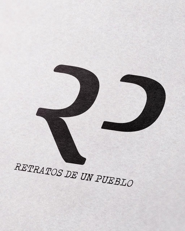 Logotipo Retratos de un pueblo por ITCANph